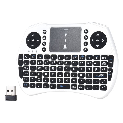 Backlit 2.4GHz Wireless Keyboard Air Mouse Touchpad Handheld Remote Control Backlight for Android TV BOX Smart TV PC NotebookVideo &amp; Audio<br>Backlit 2.4GHz Wireless Keyboard Air Mouse Touchpad Handheld Remote Control Backlight for Android TV BOX Smart TV PC Notebook<br>