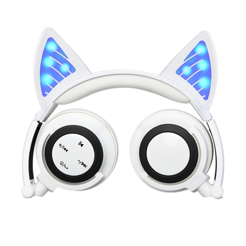 LX-BL108 Wireless Bluetooth Headset Glowing Cat Ear Foldable Earphones Stereo Music Hands-free w/Mic Headphones for iPhone iPad TVVideo &amp; Audio<br>LX-BL108 Wireless Bluetooth Headset Glowing Cat Ear Foldable Earphones Stereo Music Hands-free w/Mic Headphones for iPhone iPad TV<br>