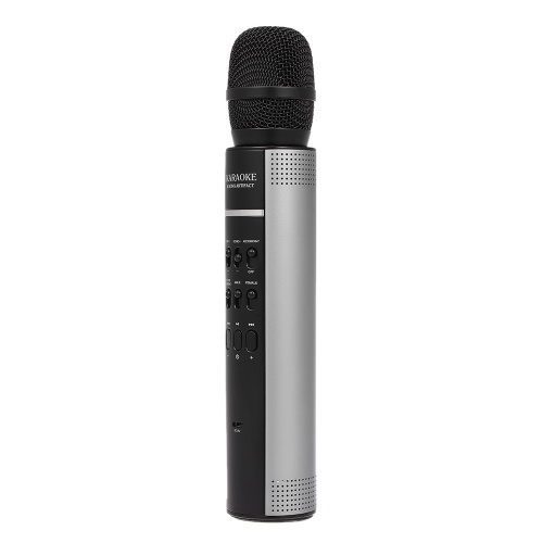 Karaoke Player Wireless BT Speaker Stereo Music Player Microphone Music Playing Songs Singing Home KTV AUX Support