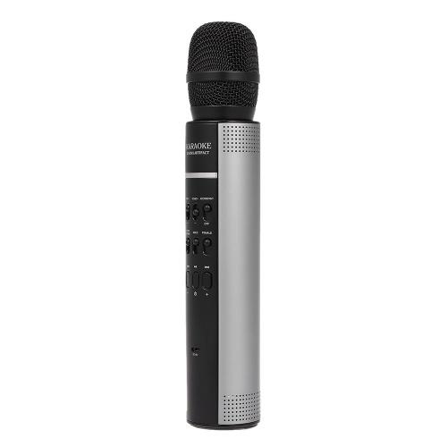 Karaoke Player Altoparlante BT senza fili Lettore musicale stereo Microfono Musica Riproduzione di brani Canto Home Supporto KTV AUX