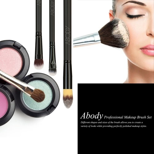 Abody 24Pcs Professional Makeup Brush Set Essential Cosmetic Make Up Brushes Kit with Black Bag Powder Brush Eyeshadow Eyebrow BruHealth &amp; Beauty<br>Abody 24Pcs Professional Makeup Brush Set Essential Cosmetic Make Up Brushes Kit with Black Bag Powder Brush Eyeshadow Eyebrow Bru<br>