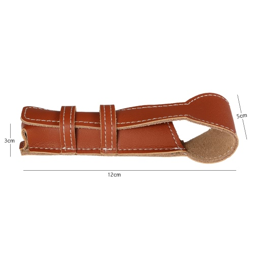 Brown Cowhide Safety Razor Leather Case Classic Double Edge Shaving Leather Pouch Razor Holder BagHealth &amp; Beauty<br>Brown Cowhide Safety Razor Leather Case Classic Double Edge Shaving Leather Pouch Razor Holder Bag<br>