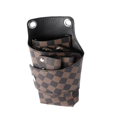 Barber Holster Pouch Holder Rivet Hair Scissor Bags Clips PU Leather Waist Shoulder BeltHealth &amp; Beauty<br>Barber Holster Pouch Holder Rivet Hair Scissor Bags Clips PU Leather Waist Shoulder Belt<br>