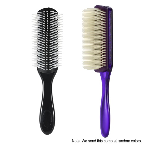 1Pc Hair Comb 9 Row Airbag Brush Anti-static Hairbrush Nylon Pins Scalp Massage Dentangling Brush Random Colors Men Hairdressing CHealth &amp; Beauty<br>1Pc Hair Comb 9 Row Airbag Brush Anti-static Hairbrush Nylon Pins Scalp Massage Dentangling Brush Random Colors Men Hairdressing C<br>