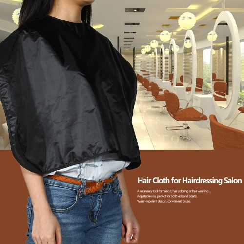 Hairdressing Salon Apron Hair Cloth for Barbershop Water Resistant Hair Cutting Cape Black Shampoo ClothHealth &amp; Beauty<br>Hairdressing Salon Apron Hair Cloth for Barbershop Water Resistant Hair Cutting Cape Black Shampoo Cloth<br>