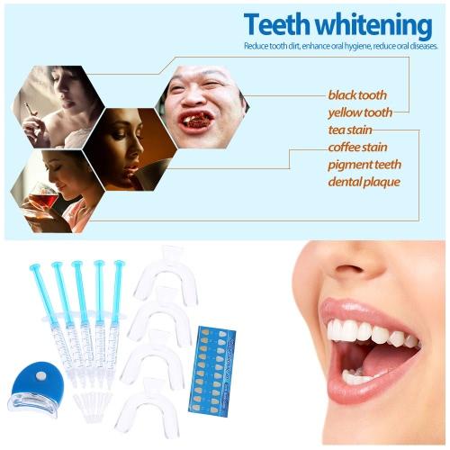 11pcs Teeth Whitening Set Dental Bleaching Tooth Whitener Whitening Gel 44% Peroxide Dental Trays Care Dental Equipment Home Kit THealth &amp; Beauty<br>11pcs Teeth Whitening Set Dental Bleaching Tooth Whitener Whitening Gel 44% Peroxide Dental Trays Care Dental Equipment Home Kit T<br>