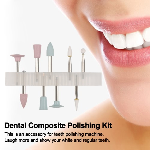 Dental Composite Polishing Kit Light-cured Resin Teeth Polishing Set for Low-speed Handpiece RA 0309 9 Grinding HeadsHealth &amp; Beauty<br>Dental Composite Polishing Kit Light-cured Resin Teeth Polishing Set for Low-speed Handpiece RA 0309 9 Grinding Heads<br>