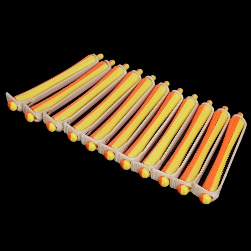 12 Pieces Salon Cold Wave Rods Hair Roller With Rubber Band Curling Curler Perms Hairdressing Styling Tool for Girls Women Hair DIHealth &amp; Beauty<br>12 Pieces Salon Cold Wave Rods Hair Roller With Rubber Band Curling Curler Perms Hairdressing Styling Tool for Girls Women Hair DI<br>