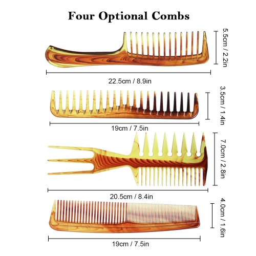 Hair Comb Salon Hair Cutting Styling Comb Wide Teeth Tail Comb Anti-Static Hairdressing BrushHealth &amp; Beauty<br>Hair Comb Salon Hair Cutting Styling Comb Wide Teeth Tail Comb Anti-Static Hairdressing Brush<br>
