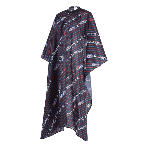 Colorful Salon Cape Hairdressing Gown Waterproof Cloth Haircutting Hair Dyeing Gown Anti-static