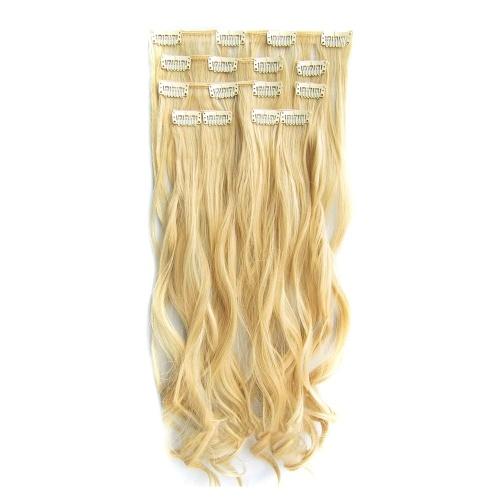Postiches en fibres synthétiques pour femmes