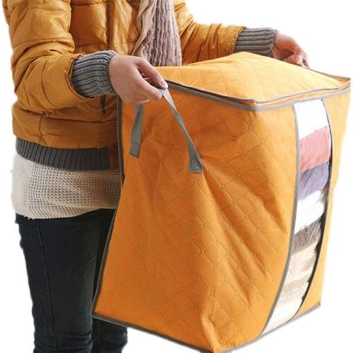 Large Clothes Bedding Duvet Zipped Pillows Non Woven Storage Bag BoxHome &amp; Garden<br>Large Clothes Bedding Duvet Zipped Pillows Non Woven Storage Bag Box<br>