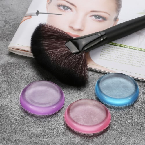 Silicone Blender Makeup Cosmetic Powder Puff For Liquid Foundation BB Cream Concealer Puffs Girls Puff Make Up Beauty Tools TransHealth &amp; Beauty<br>Silicone Blender Makeup Cosmetic Powder Puff For Liquid Foundation BB Cream Concealer Puffs Girls Puff Make Up Beauty Tools Trans<br>