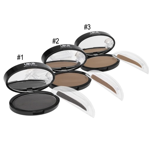 UBUB Brow Stamp Powder Eye Brow Straight United Enhancer With 1 Pair Brow Stamps Brush Mirror #1 GrayHealth &amp; Beauty<br>UBUB Brow Stamp Powder Eye Brow Straight United Enhancer With 1 Pair Brow Stamps Brush Mirror #1 Gray<br>