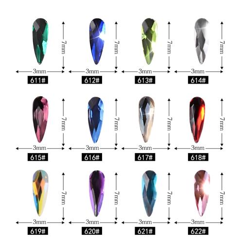 12pcs Nail Art Water Droplets Drill DIY Jewelry Accessories Shiny DecoratorHealth &amp; Beauty<br>12pcs Nail Art Water Droplets Drill DIY Jewelry Accessories Shiny Decorator<br>