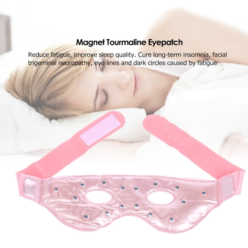 1Pc Magnet Tourmaline Eyepatch Eyeshade Reduce Fatigue Anti Dark Circle Hot Cold Eye Mask Magnet Therapy Eye Cover Sleep Blinder fHealth &amp; Beauty<br>1Pc Magnet Tourmaline Eyepatch Eyeshade Reduce Fatigue Anti Dark Circle Hot Cold Eye Mask Magnet Therapy Eye Cover Sleep Blinder f<br>