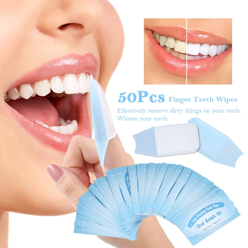 50Pcs Wipes Dental Clean Teeth Whitening Tool for Oral Deep CleaningHealth &amp; Beauty<br>50Pcs Wipes Dental Clean Teeth Whitening Tool for Oral Deep Cleaning<br>