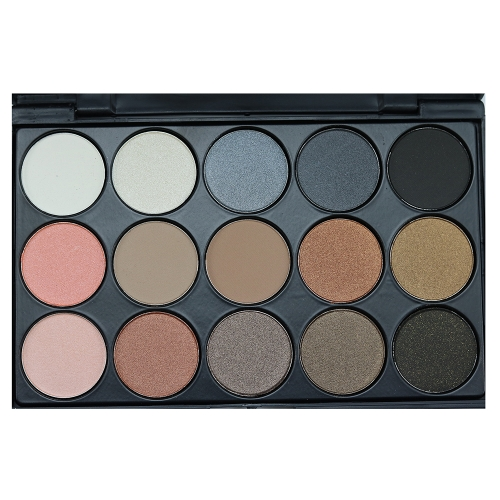 Brand New 15 Color Matte Pigment Glitter Eyeshadow Palette Cosmetic Makeup Set Nude Eye Shadow