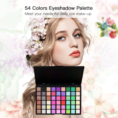 54 Colors Sexy Professional Beauty Matte Glitter Long-lasting Pigment Palette Eye Cosmetics Makeup Tool EyeshadowsHealth &amp; Beauty<br>54 Colors Sexy Professional Beauty Matte Glitter Long-lasting Pigment Palette Eye Cosmetics Makeup Tool Eyeshadows<br>
