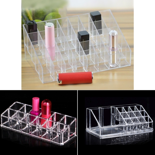 Clear Storage Holder Box Transparent Stick Cosmetic Makeup Organizer CaseHealth &amp; Beauty<br>Clear Storage Holder Box Transparent Stick Cosmetic Makeup Organizer Case<br>