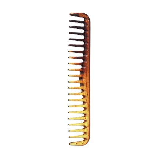 Peine del pelo peine del corte del pelo peine del pelo Peine de la cola de los dientes grandes Cepillo antiestático de la peluquería