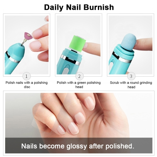 9 in 1 Electric Nail Polisher Grinding Machine Portable Multifunctional Pedicure Manicure Tool SetHealth &amp; Beauty<br>9 in 1 Electric Nail Polisher Grinding Machine Portable Multifunctional Pedicure Manicure Tool Set<br>