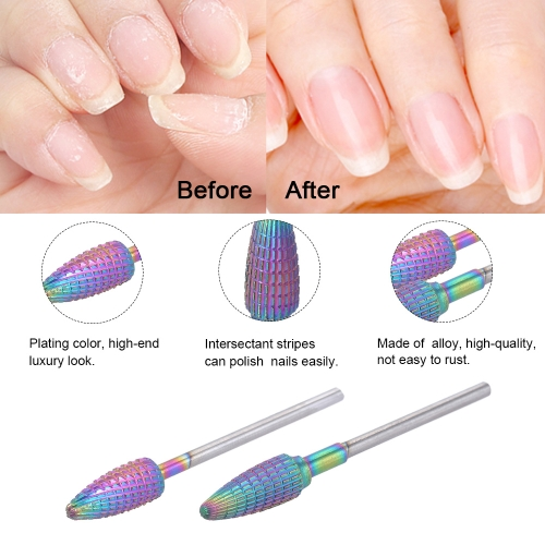 1pc Stainless Steel Nail Replaceable Electric Grinding Head Drill Bit Polishing Plating Color Manicure Machine ToolHealth &amp; Beauty<br>1pc Stainless Steel Nail Replaceable Electric Grinding Head Drill Bit Polishing Plating Color Manicure Machine Tool<br>