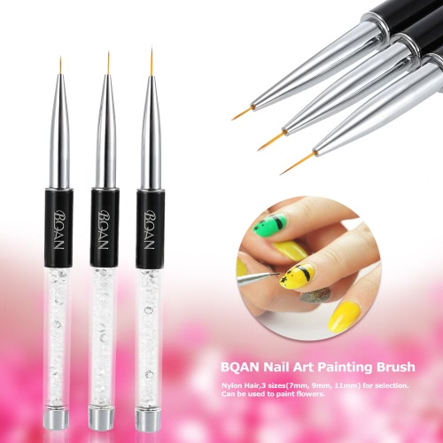 BQAN 11mm Nail Art UV Gel Painting Line Brush  Hair Pen Manicure Nail Liner ToolHealth &amp; Beauty<br>BQAN 11mm Nail Art UV Gel Painting Line Brush  Hair Pen Manicure Nail Liner Tool<br>