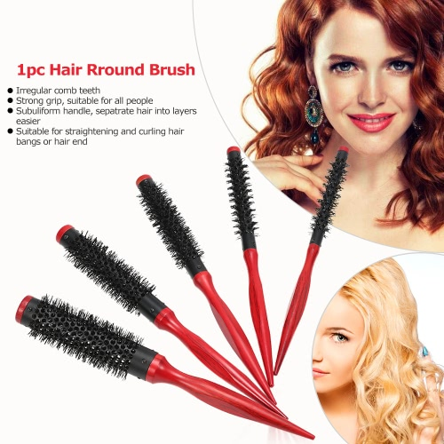10mm Hair Round Brush Quiff Roller Comb for DIY Hairstyle Salon Hairdressing Round Hairbrush Nylon CombHealth &amp; Beauty<br>10mm Hair Round Brush Quiff Roller Comb for DIY Hairstyle Salon Hairdressing Round Hairbrush Nylon Comb<br>