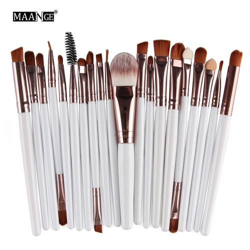 20PCS Professional Eye Shadow Foundation Eyebrow Lip Brush Makeup Brush Tools Toiletry Kit Wool Design Pinceau Maquillage ProfessiHealth &amp; Beauty<br>20PCS Professional Eye Shadow Foundation Eyebrow Lip Brush Makeup Brush Tools Toiletry Kit Wool Design Pinceau Maquillage Professi<br>