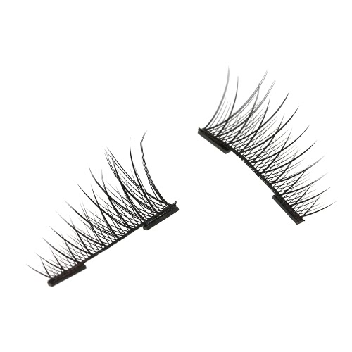 European and American Hot Style 3D Magnetic False Eyelashes With No Need for Glue Double MagnetHealth &amp; Beauty<br>European and American Hot Style 3D Magnetic False Eyelashes With No Need for Glue Double Magnet<br>