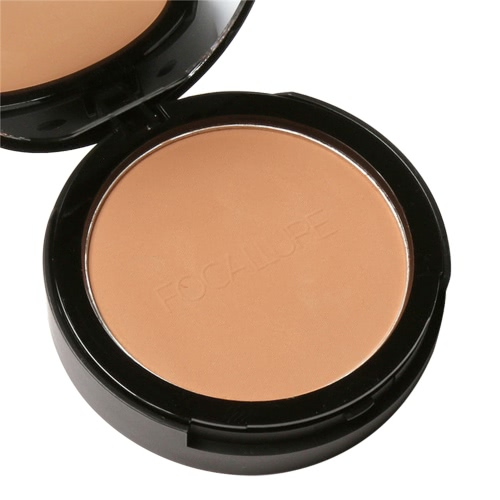 FOCALLURE Pressed Powder Facial Makeup Finishing Powder Palette Highlighter Shimmer Brighten Cosmetic Foundation PowderHealth &amp; Beauty<br>FOCALLURE Pressed Powder Facial Makeup Finishing Powder Palette Highlighter Shimmer Brighten Cosmetic Foundation Powder<br>