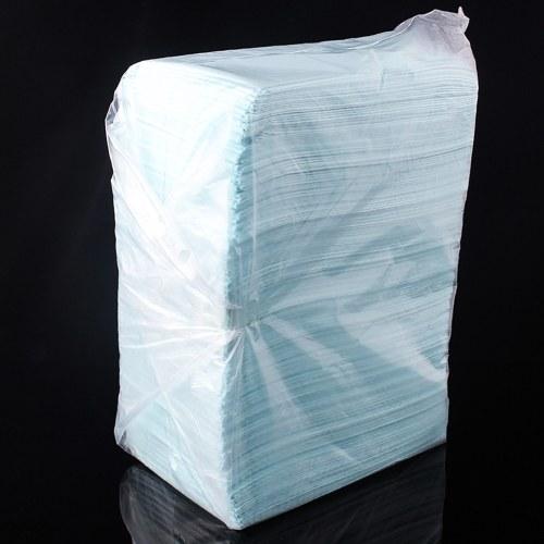 125 قطع المتاح الوشم نظيفة سادة للماء ورقة الجدول القماش حصيرة طبقة مزدوجة صفائح اكسسوارات الوشم 16.7 * 11 سنتيمتر