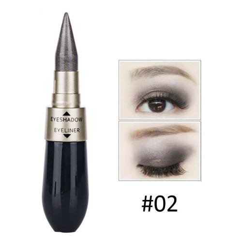 Double-end Waterproof Liquid EyeShadow Eyeliner Combination Easy to Wear Makeup 2Health &amp; Beauty<br>Double-end Waterproof Liquid EyeShadow Eyeliner Combination Easy to Wear Makeup 2<br>