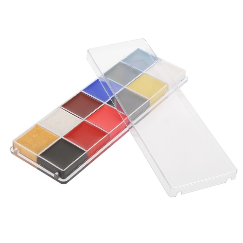 12 Colors Body Face Paint Oil Professional DIY Painting Make Up Kit For Halloween PartyHealth &amp; Beauty<br>12 Colors Body Face Paint Oil Professional DIY Painting Make Up Kit For Halloween Party<br>