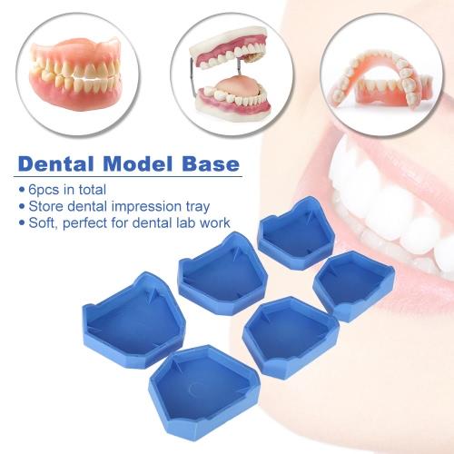 6pcs Dental Model Base Set Dental Lab Former Base Kit Dental Mold Plaster Base Large Middle Small Size BlueHealth &amp; Beauty<br>6pcs Dental Model Base Set Dental Lab Former Base Kit Dental Mold Plaster Base Large Middle Small Size Blue<br>