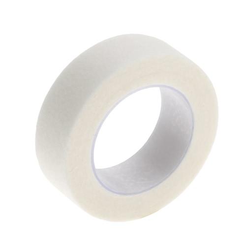 Cinta de 5 piezas de extensión de la pestaña de la pelusa de ratón libres ojo blanco Bajo las pistas del ojo de papel para el parche pestaña falsa compone las herramientas