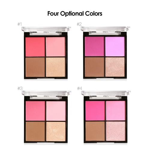 MARIA AYORA 4 Color Blusher Pallete Face Makeup Powder Face Blusher Powder Palette Cosmetic Blush SetHealth &amp; Beauty<br>MARIA AYORA 4 Color Blusher Pallete Face Makeup Powder Face Blusher Powder Palette Cosmetic Blush Set<br>