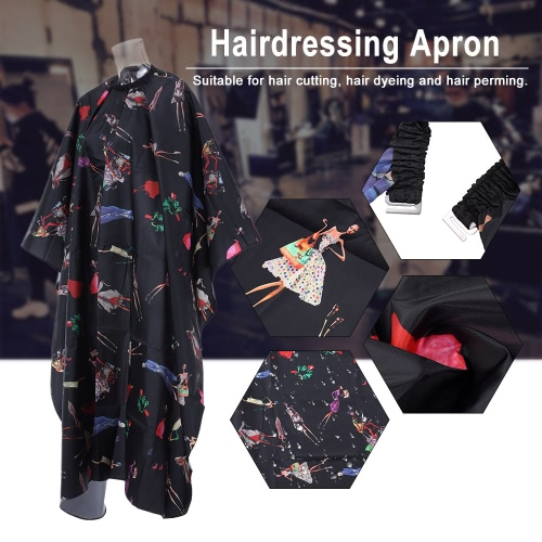 Hairdressing Gown Waterproof Salon Cape Haircutting Apron Hair Cutting Dyeing Styling Cloth for Barber UseHealth &amp; Beauty<br>Hairdressing Gown Waterproof Salon Cape Haircutting Apron Hair Cutting Dyeing Styling Cloth for Barber Use<br>