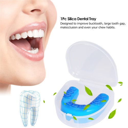 1Pc Silica Dental Tray Orthodontic Trainer Teeth Alignment Appliance Mouthguard Oral Health Care Dental ToolHealth &amp; Beauty<br>1Pc Silica Dental Tray Orthodontic Trainer Teeth Alignment Appliance Mouthguard Oral Health Care Dental Tool<br>