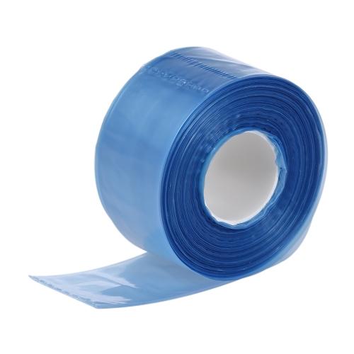200pcs / boxメガネの足のためのプラスチック使い捨てのカバー細長い袋の髪の着色染色DIYツール