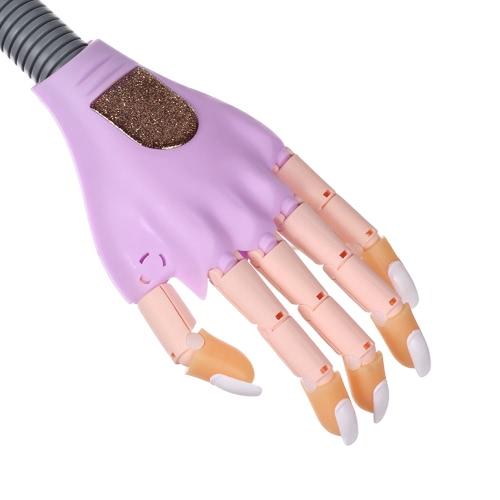 Nail Trainer DIY Nail Art Model Hand Tool with 100 Nail TipsHealth &amp; Beauty<br>Nail Trainer DIY Nail Art Model Hand Tool with 100 Nail Tips<br>