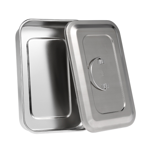 Medical Stainless Steel Sterilizer Container Disinfection Plate Nursing Medical Dressing Tray With Cover For Eyebrow Lip TattooHealth &amp; Beauty<br>Medical Stainless Steel Sterilizer Container Disinfection Plate Nursing Medical Dressing Tray With Cover For Eyebrow Lip Tattoo<br>