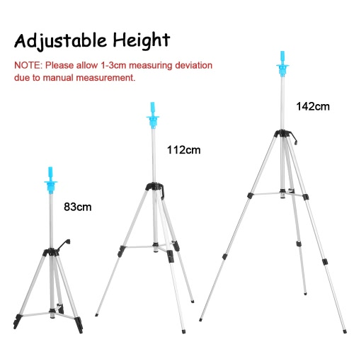Adjustable Wig Tripod Stand Head Mannequin Hairdressing Training Tripod Holder Wig Head Holder Hair Salon With Carry BagHealth &amp; Beauty<br>Adjustable Wig Tripod Stand Head Mannequin Hairdressing Training Tripod Holder Wig Head Holder Hair Salon With Carry Bag<br>