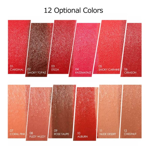 FOCALLURE 1Pc Matte Lipsticks Moisturizing Lip Sticks Rouge Gloss Crayon Waterproof Long-lasting 12 Optional ColorsHealth &amp; Beauty<br>FOCALLURE 1Pc Matte Lipsticks Moisturizing Lip Sticks Rouge Gloss Crayon Waterproof Long-lasting 12 Optional Colors<br>