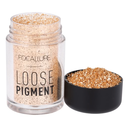 FOCALLURE 1Pc Eyeshadow Glitter Powder Eye Shadow Shimmer Loose Pigment Powder Eye Lip Cosmetic 12 Optional ColorsHealth &amp; Beauty<br>FOCALLURE 1Pc Eyeshadow Glitter Powder Eye Shadow Shimmer Loose Pigment Powder Eye Lip Cosmetic 12 Optional Colors<br>