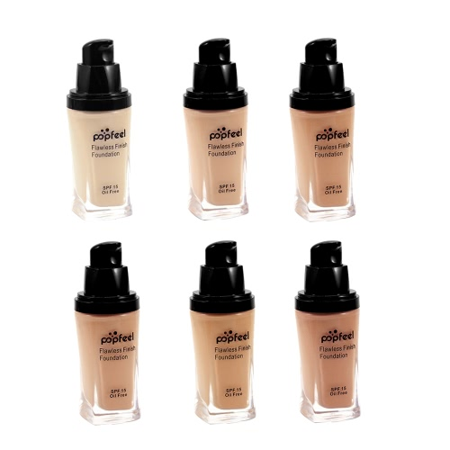 Popfeel BB Cream Liquid Finish Foundation Concealer Sunscreen Base Primer Face Makeup Flawless Natural LightHealth &amp; Beauty<br>Popfeel BB Cream Liquid Finish Foundation Concealer Sunscreen Base Primer Face Makeup Flawless Natural Light<br>
