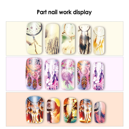 12pcs/bag 12 Patterns Nail Art Stickers Dream Catcher Series Water Transfer DecalsHealth &amp; Beauty<br>12pcs/bag 12 Patterns Nail Art Stickers Dream Catcher Series Water Transfer Decals<br>