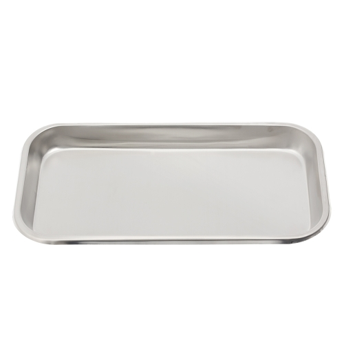 Stainless Steel Surgical Dental Instrument Bending Tray Disinfection Plate For Eyebrow Lip Tattoo Sterilization