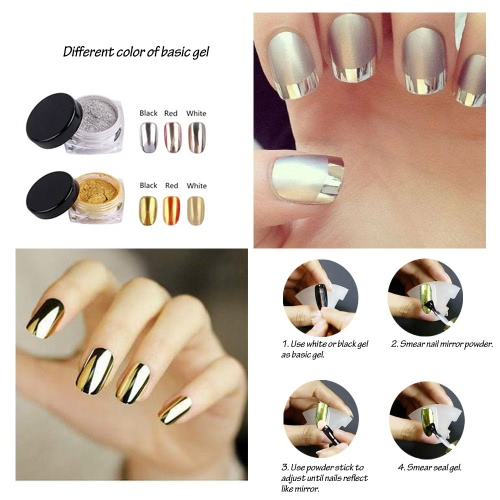 6 Colors Nail Mirror Powder Nail Powder Mirror Nail Glitter Metallic Nail Powder Nail Decoration Powder ToolHealth &amp; Beauty<br>6 Colors Nail Mirror Powder Nail Powder Mirror Nail Glitter Metallic Nail Powder Nail Decoration Powder Tool<br>
